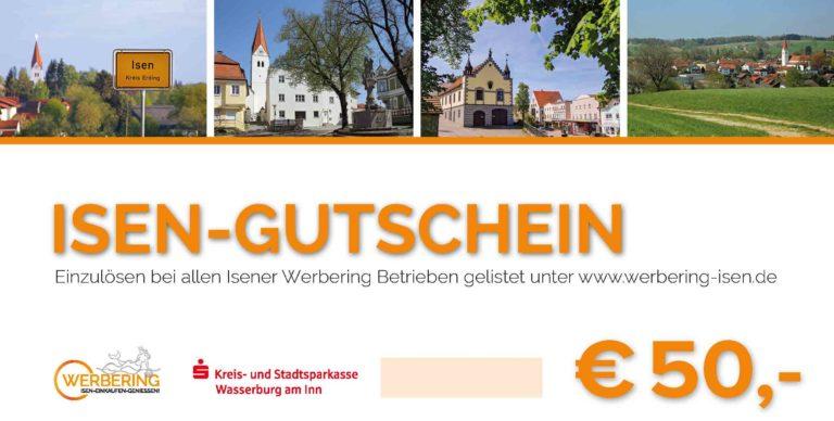 Werbering Gutschein 50€